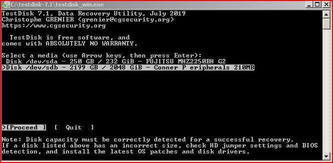Conner CFS210A_Master_TestDisk.JPG