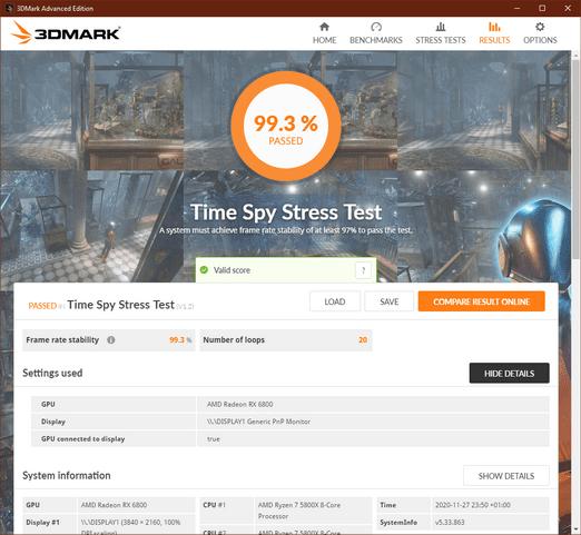 resizeTime Spy Stress Test Radeon6800-AMD5800 20201127.png