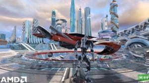 AMD Raytracing Techdemo-Futuristic City