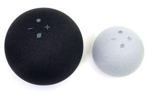 Amazon Echo und Echo Dot mit Uhr (4. Generation)