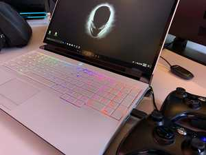 Das Alienware Area-51m auf der CES 2019