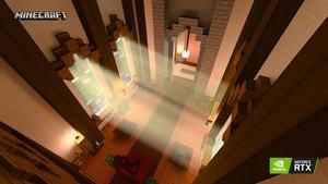 Minecraft RTX Crystal Palace