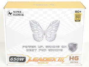 Super Flower Leadex III Gold 650W