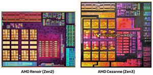 AMD Cezanne Blockdiagramm