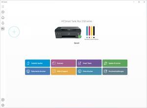 Windows Drucker HP Smart Tank Plus 550