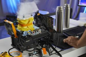 Intel Core i9-9900K unter LN2
