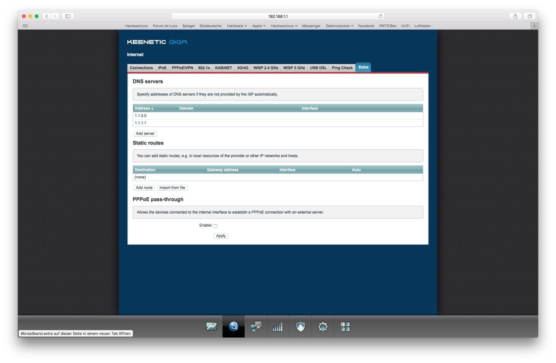 Keenetic Giga: Ein WLAN-Router mit Software-Fokus - Hardwareluxx