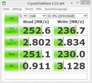 Seagate ST10000VN0004 - CrystalDiskBenchmark