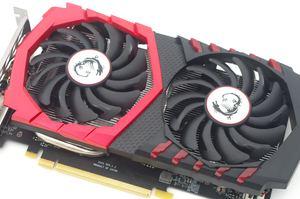 MSI GeForce GTX 1050 Ti Gaming X
