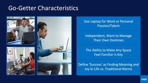 Intel-Präsentationsfolien zur Evo-Plattform