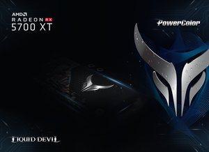 Vorschau auf die PowerColor Liquid Devil Radeon RX 5700 XT