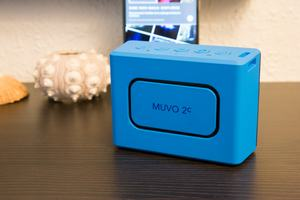 Der nach hinten gerichtete passive Strahler des MUVO 2c ist auch ein Design-Element