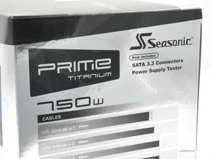 Seasonic PRIME Ultra 750W Titanium