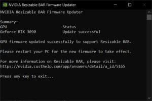 NVIDIA GeForce RTX 3090 VBIOS-Update