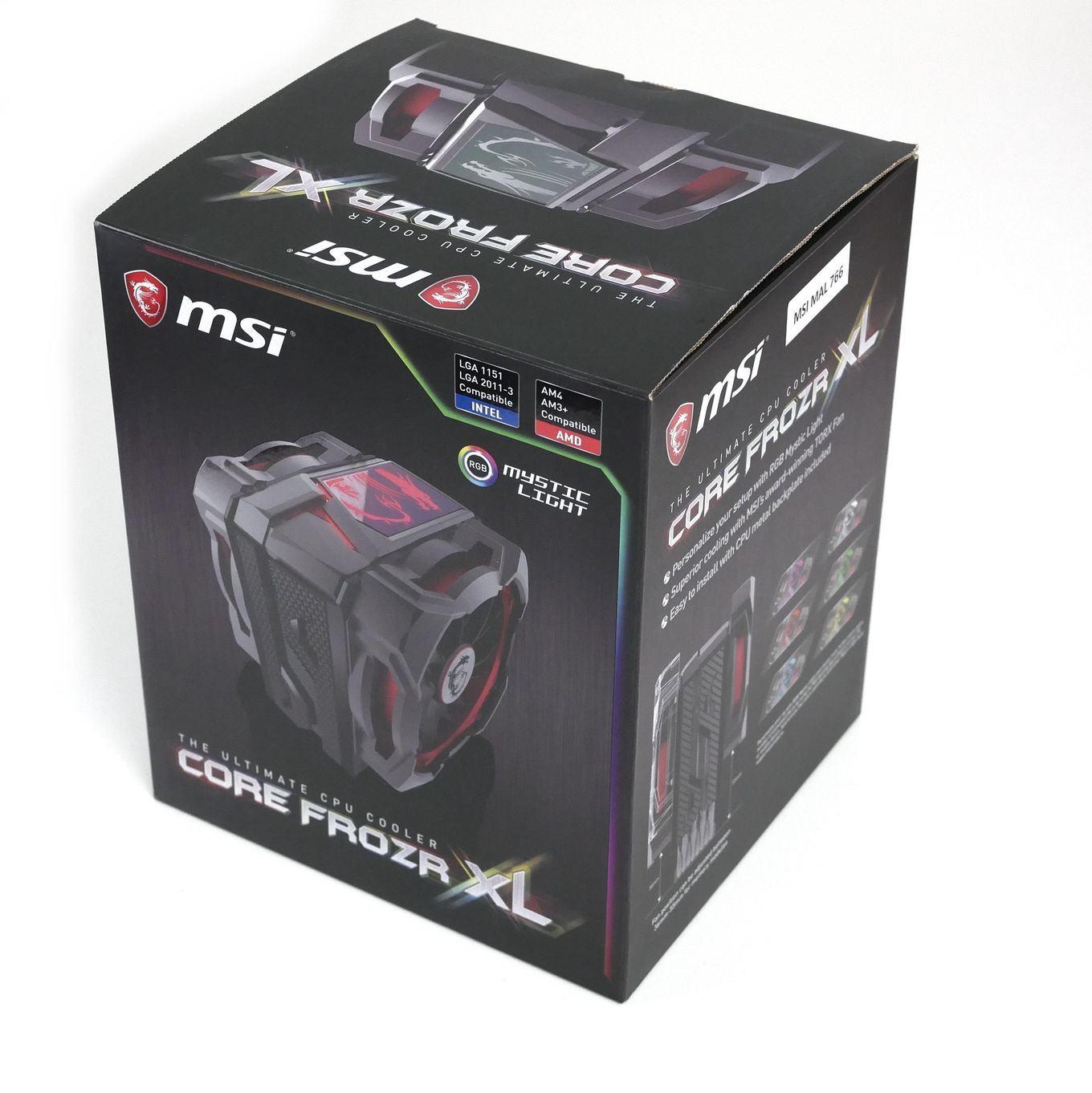 MSI Core Frozr XL im Test - größer = besser? - Hardwareluxx