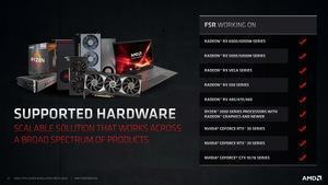 AMD FidelityFX Super Resolution
