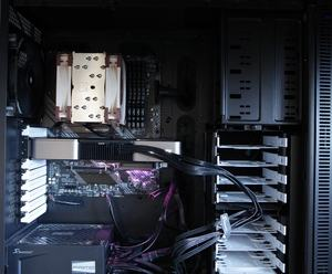 GeForce RTX 3080 Founders Edition im Gehäuse