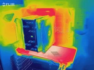 Wärmebild GeForce RTX 2080 Ti Founders Edition