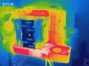 Wärmebild GeForce RTX 3080 Founders Edition