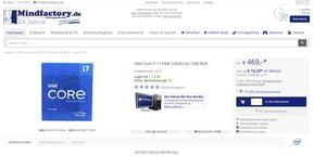 Ab 469 Euro: Intels Core i7-11700K vor offiziellem Launch verfügbar (Update) - Hardwareluxx - HardwareLuxx