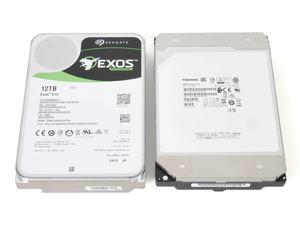 Seagate Exos X12 & Toshiba Enterprise Capacity 14TB