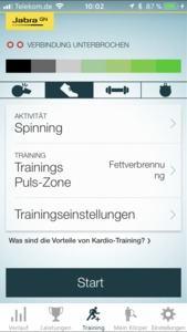 Die Sport-Life-App unterstützt die verschiedensten Sportarten und Zielvorgaben