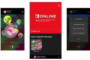 Die ersten Screenshots zur Switch-Online-App von Nintendo (Bild: TheVerge.com)