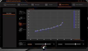 Die Software des Gigabyte Aorus 15P WB