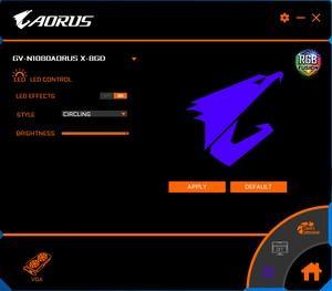 Gigabyte Aorus GeForce GTX 1080 xtreme edition 8G