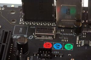 Der dazu passende Anschluss wurde von Biostar besonders vor elektrischen Entladungen geschützt.