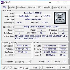 GPUz und CPUz des ASUS ROG G703