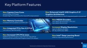 Intel gibt Vorschau auf Rocket Lake-S mit Cypress Cove