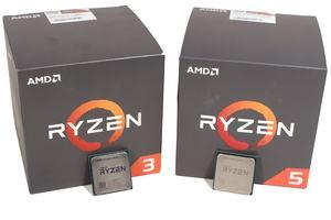 AMD Ryzen 5 1600 und Ryzen 3 1200 mit 12nm im Test