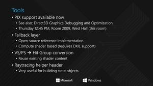 Präsentation zu DXR auf der GDC 2018