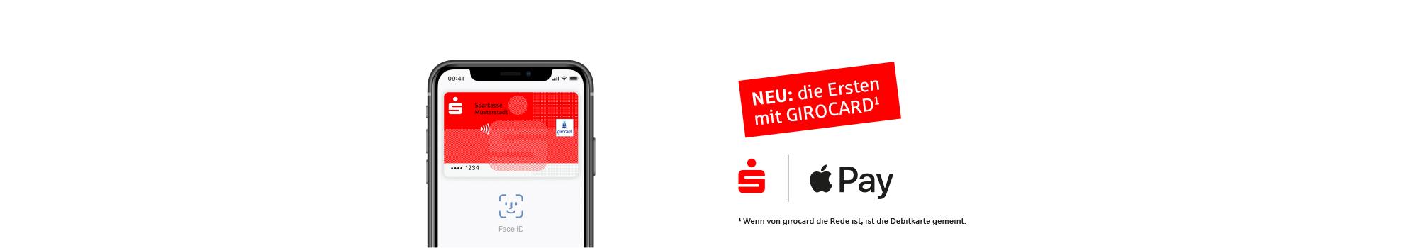 Apple mit der Sparkassencard