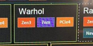 Vermeintliche AMD-Roadmap mit Warhol Codenamen