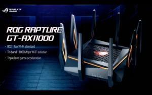 Vorstellung des ASUS ROG Rapture GT-AX11000