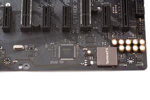 LAN-Controller, SuperI/O-Chip und der Audiobereich im Überblick.