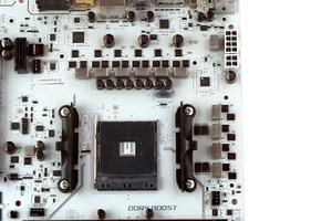 Der VRM-Bereich beim MSI X370 XPower Gaming Titanium.