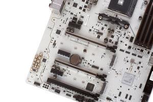 Die Erweiterungssteckplätze beim MSI X370 XPower Gaming Titanium.