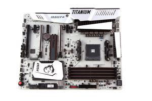 Das MSI X370 XPower Gaming Titanium nochmal in der Übersicht.