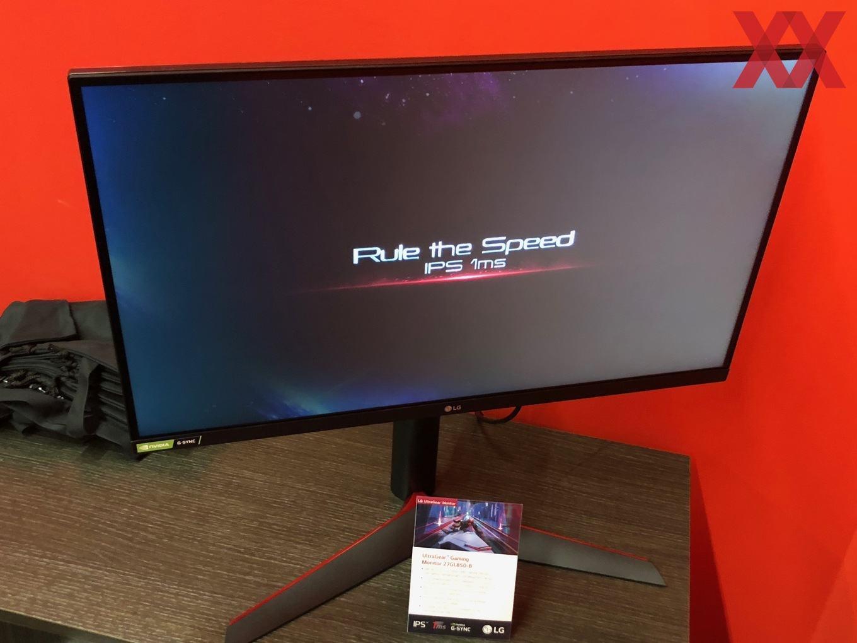 LG zeigt 27-Zoll-Monitor mit IPS-Panel und 1 ms