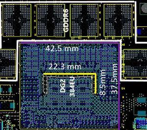 Intel DG2 PCB