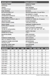 Samsung Original UDIMM DDR4-2933 CL21-21-21