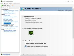 Monitor mit G-Sync Compatible