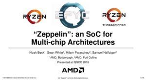 AMD zeigt Details zum Zeppelin-Die und nennt Vorteile