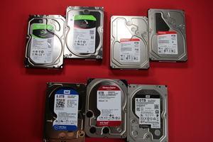 6 TB Festplatten verschiedener Hersteller im Test