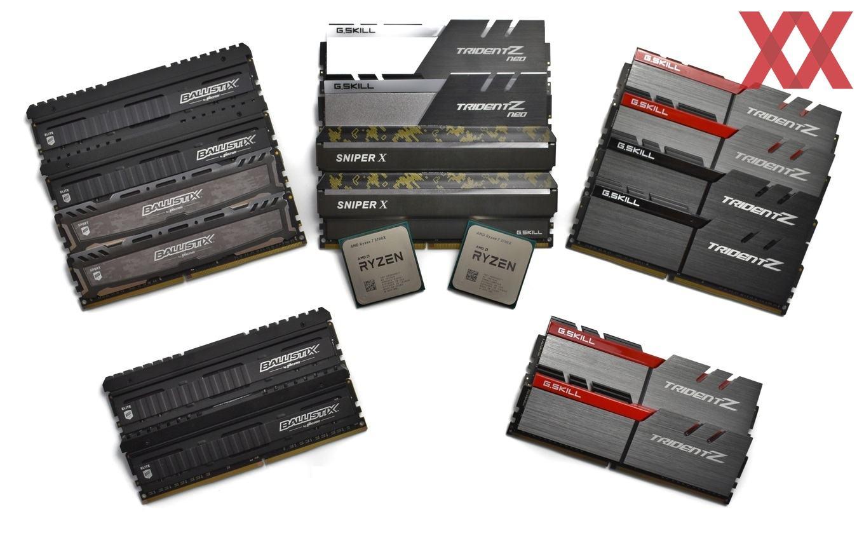 AMDs Ryzen trifft Samsung, Micron und Hynix