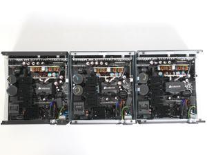Corsair RM650, RM750 und RM850 (v.l.n.r.)