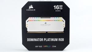 Corsair Dominator Platinum RGB white